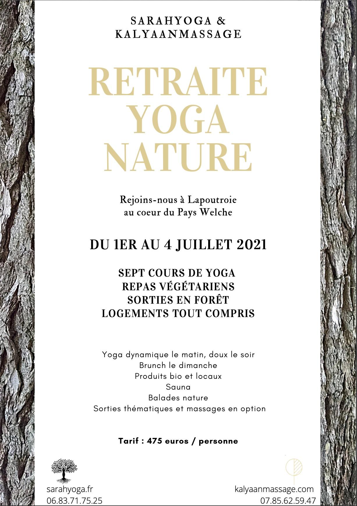 retraite de yoga juillet 2021 Alsace